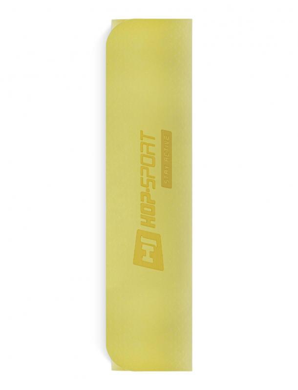 Килимок для фітнесу та йоги Hop-Sport HS-T006GM TPE 0,6 см Жовто-сірий - фото 5