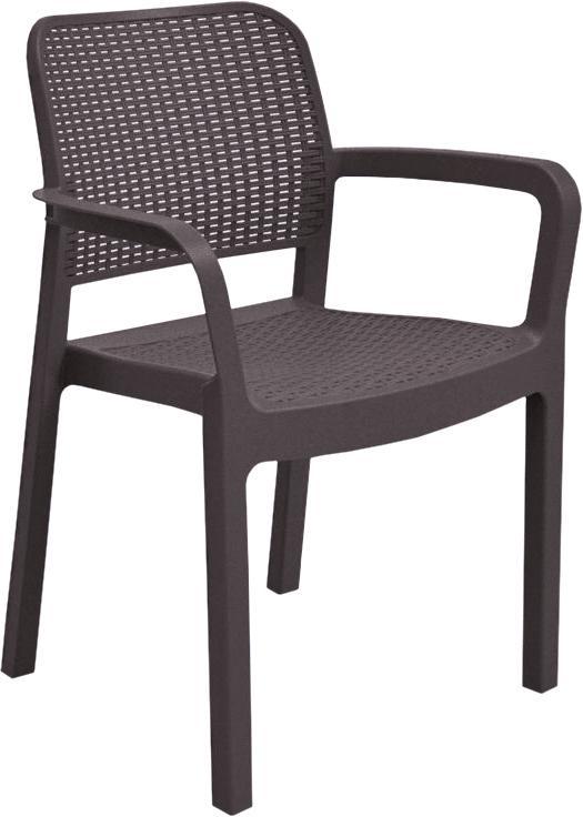 Садовий стілець Keter Samanna Коричневий (216923) - фото 1