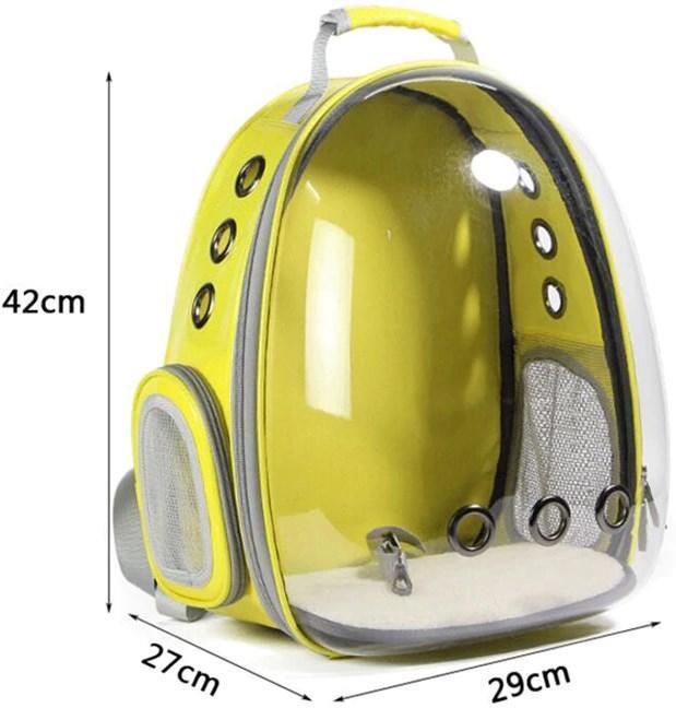 Рюкзак прозорий Lollimeow для перенесення домашніх тварин (DY-SN044) - фото 4