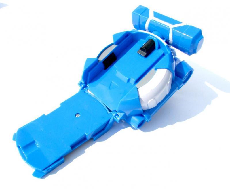 Іграшка Dabitoy Ліга Вотчкар машинка Блюввил і Джин та запускач WatchCar Синій - фото 6