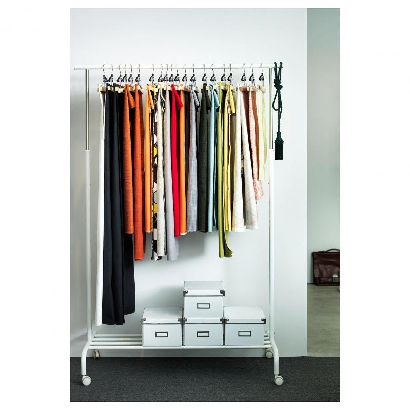 Стойка для одежды IKEA RIGGA 502.316.30 Белый - фото 3