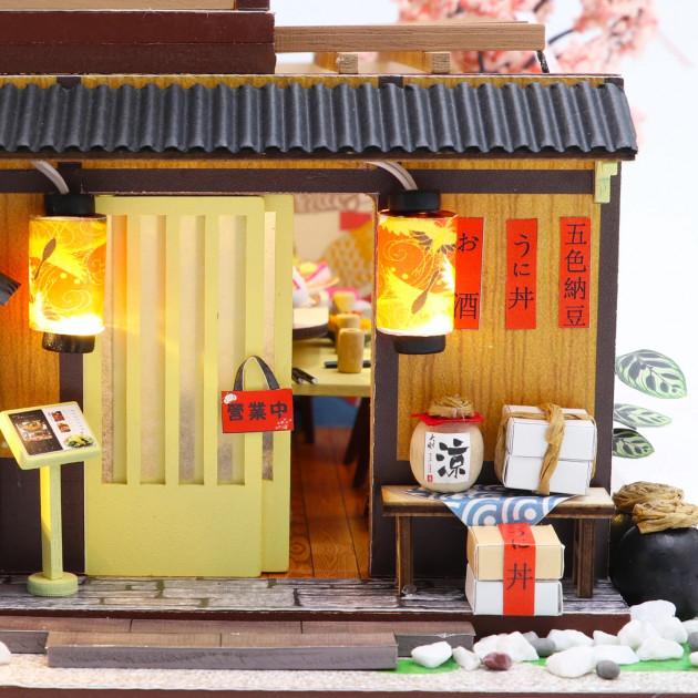 3D Румбокс CuteBee DIY DollHouse Суші-ресторан (G306) - фото 11
