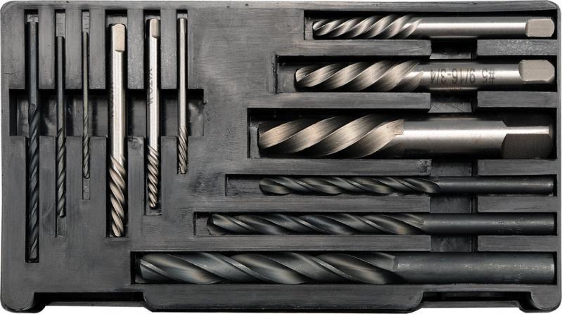 Экстракторы и сверла по металлу Yato (YT - 0591) - фото 1