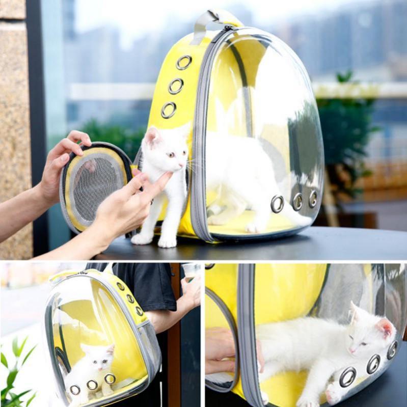 Рюкзак прозорий Lollimeow для перенесення домашніх тварин (DY-SN044) - фото 5