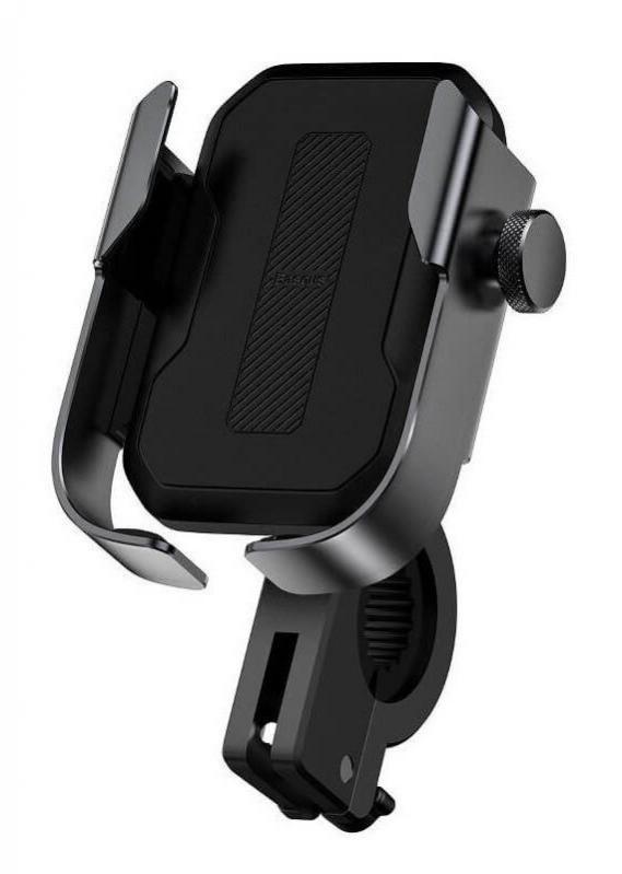 Тримач для мобільного телефона Baseus Armor Motorcycle holder Чорний (SUKJA-01) - фото 1