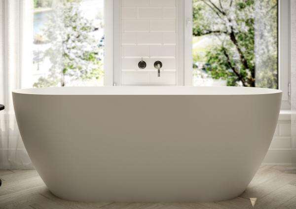 Ванна Грінланд з литого мармуру Білий - фото 1