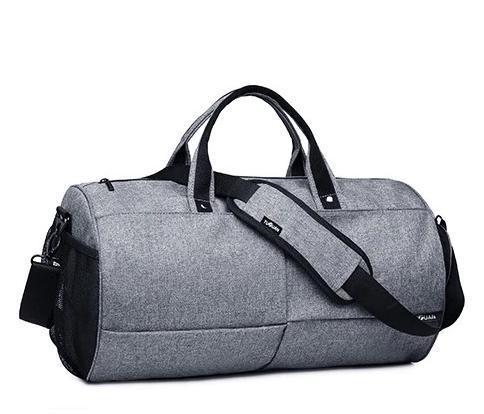 Спортивна сумка TuGuan 1698 з відділом для взуття Сірий - фото 1