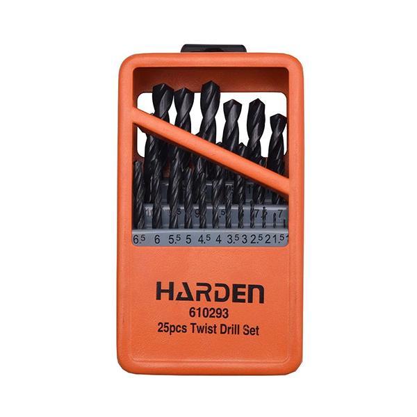 Набор сверл Harden Tools по металлу 25 пр. HSS 1-13 мм (610293) - фото 1