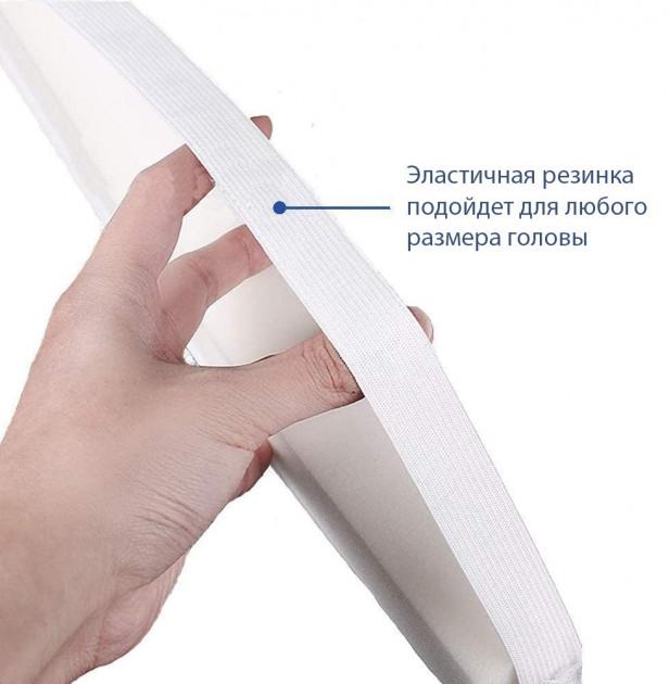 Защитный щиток экран для лица Face Shield 33х22см Прозрачный - фото 4