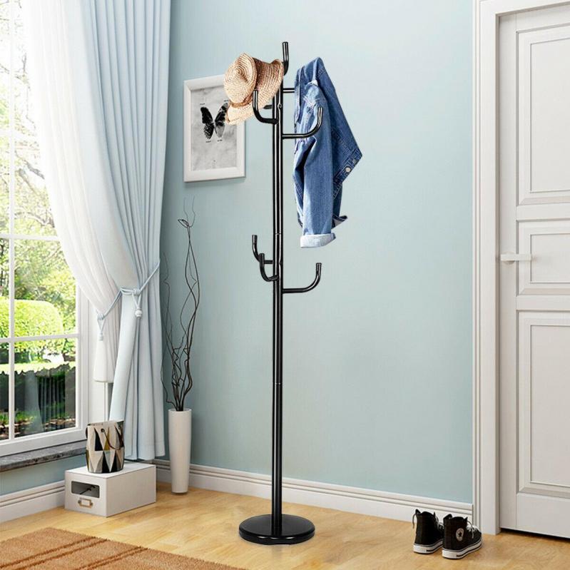 Вешалка-стойка для одежды Черный (CH-4464 BK) - фото 6