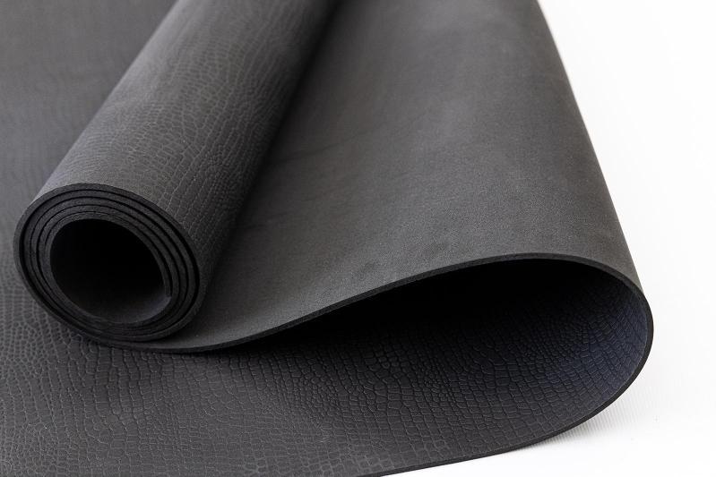 Килимок для йоги та фітнесу OSPORT OF-0089 Yoga Pro 3 мм Чорний - фото 3