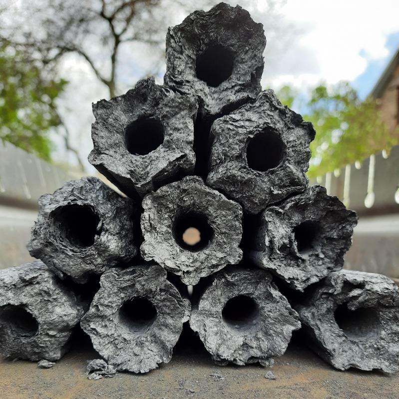 Топливные дерево-угольные брикеты для мангала и гриля Pini Kay 10 кг - фото 3