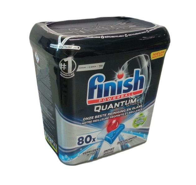 Finish Powerball Quantum Ultimate 80 таблеток для посудомийної машини - фото 1