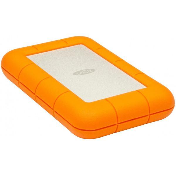 Жесткий диск LaCie USB 2TB (9000298) Rugged Mini - фото 1