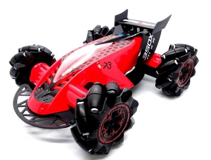 Трюкова машинка Drifter Turbo Air Released на радіокеруванні з підсвічуванням Червоний - фото 1