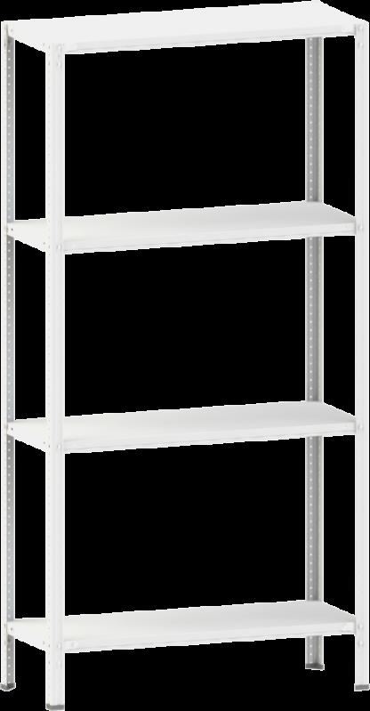 Стелаж металевий 4х150 кг/п 2500х1200х500 мм на болтовому з'єднанні - фото 2