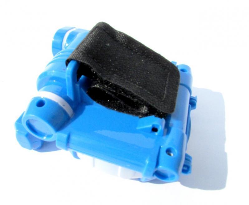 Іграшка Dabitoy Ліга Вотчкар машинка Блюввил і Джин та запускач WatchCar Синій - фото 4