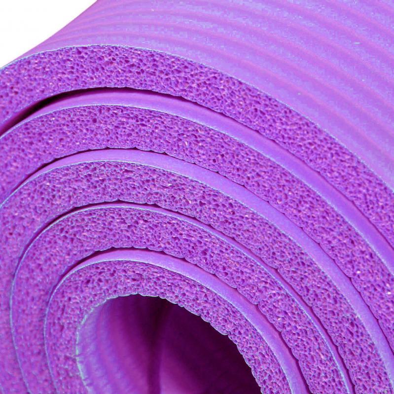 Килимок для йоги EasyFit NBR High-Density 10 мм Фіолетовий (EF-NK10V) - фото 3