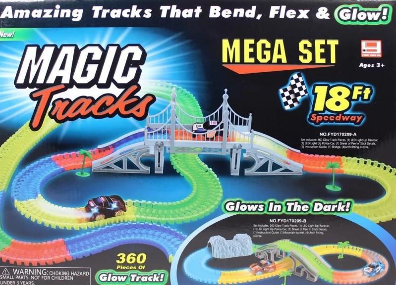 Набір автотрек Magic Tracks 360 перехрестя - фото 2