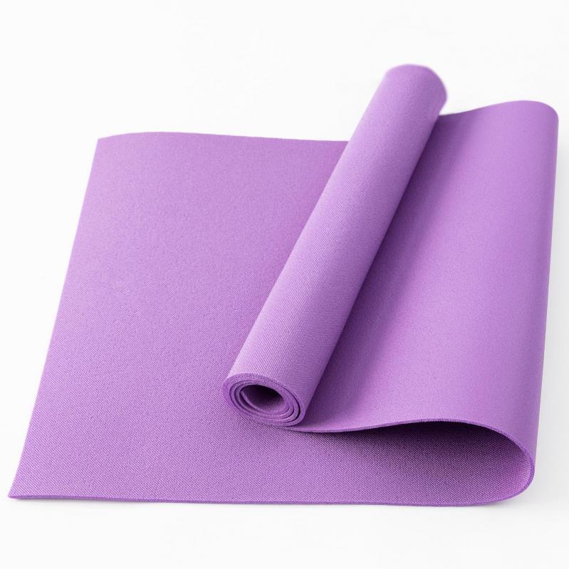Килимок для йоги та фітнесу OSPORT FI-0077 Колібрі Фіолетовий - фото 1