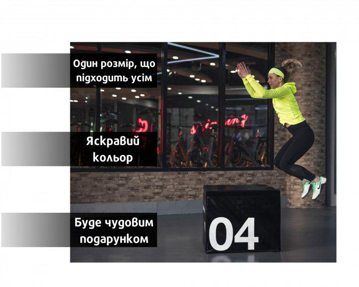 Набор спортивных повязок OSIAZHNYI 2 шт. Синий/Желтый - фото 8