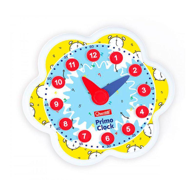 Навчальний ігровий набір Quercetti серії Play Montessori Перший годинник - фото 2