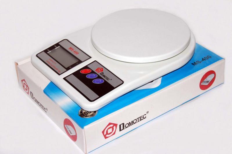 Кухонные весы Domotec Ms-400 до 10 кг с батарейками (bks_00791) - фото 2