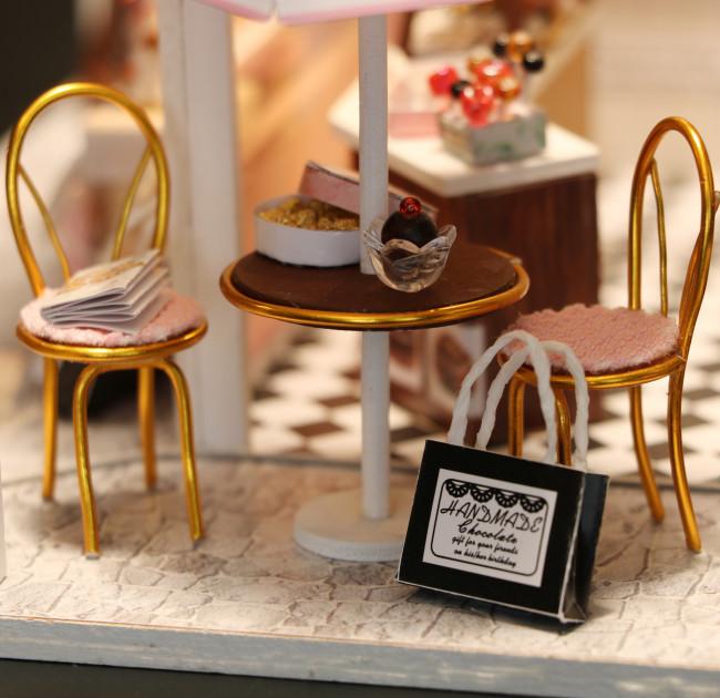 3D Румбокс CuteBee DIY DollHouse Шоколадниця (V358SD) - фото 4