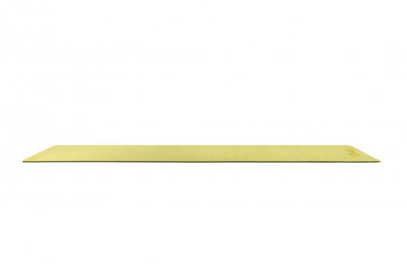 Килимок для фітнесу та йоги Hop-Sport HS-T006GM TPE 0,6 см Жовто-сірий - фото 7