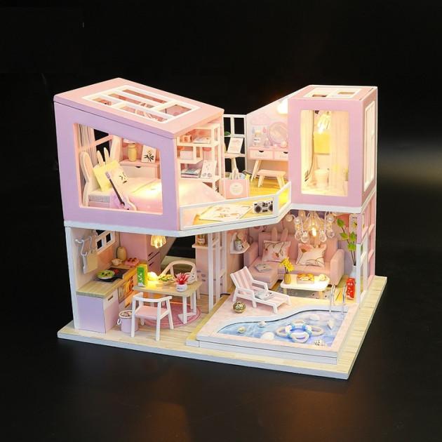 3D Румбокс CuteBee DIY DollHouse Перша любов (M915) - фото 4