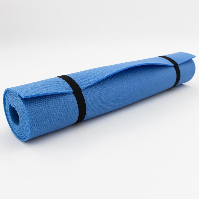 Килимок для йоги та фітнесу OSPORT FI-0077 Колібрі Синій - фото 3