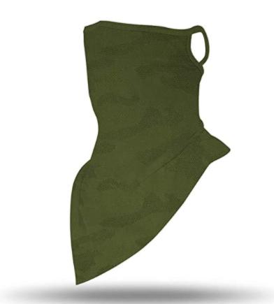 Бафф-маска Copper Зеленый хаки (buff-004-1) - фото 1
