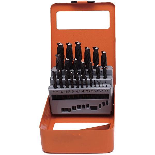 Набор сверл Harden Tools по металлу 25 пр. HSS 1-13 мм (610293) - фото 2