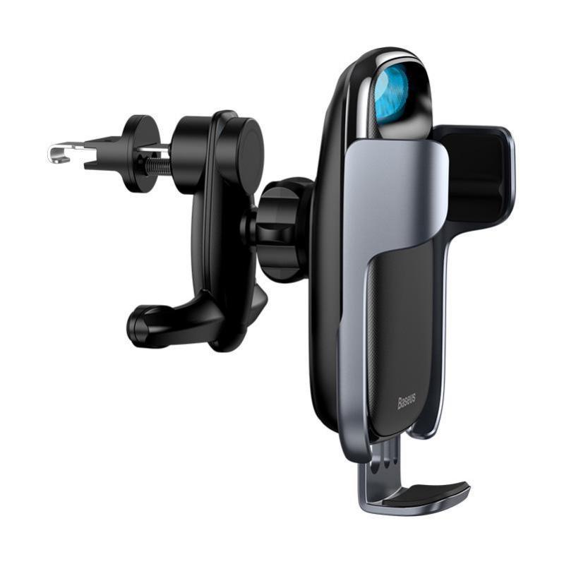 Автомобільний тримач Baseus Milky Way Electric Bracket Wireless Charger 15W Black - фото 2