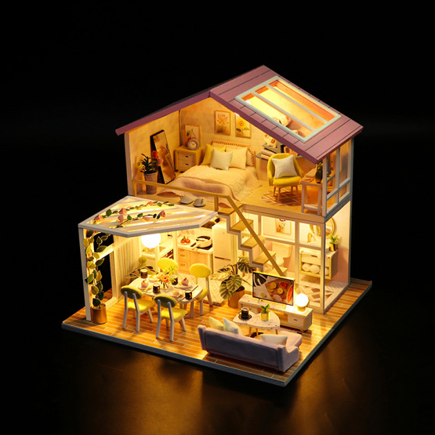 3D Румбокс CuteBee Sweet Time DIY DollHouse (M2001) - фото 7