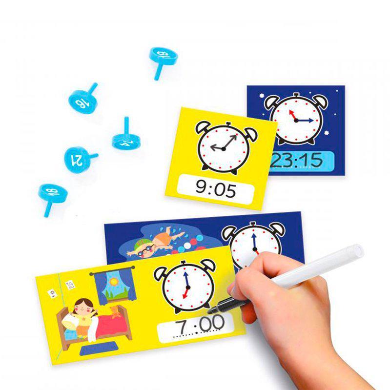 Навчальний ігровий набір Quercetti серії Play Montessori Перший годинник - фото 3
