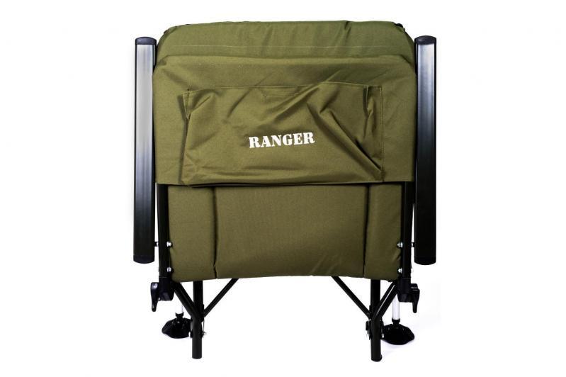 Кресло карповое раскладное для отдыха Ranger 70х97х104-115 см - фото 7