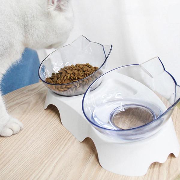 Набор Fmax Миска подвійна для котів і собак білий - фото 2