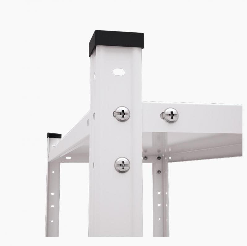 Стеллаж металлический Меткас РЕК 2 1700x750x300 мм 35 кг/полку (РЕК 2) - фото 3