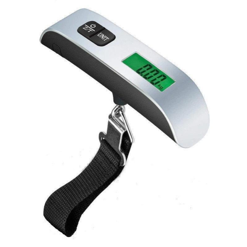 Электронные весы кантер Electronic Luggage Scale для багажа с ремнем - фото 2