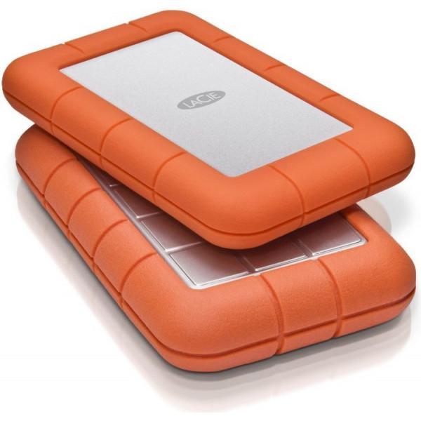 Жесткий диск LaCie USB 2TB (9000298) Rugged Mini - фото 7