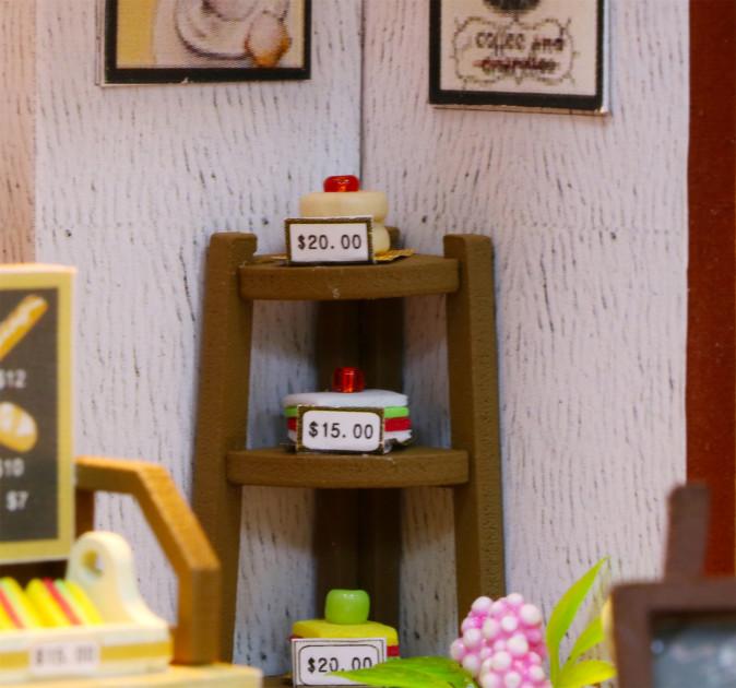 3D Румбокс CuteBee Coffee Time DIY DollHouse Кафе (V356SD) - фото 4