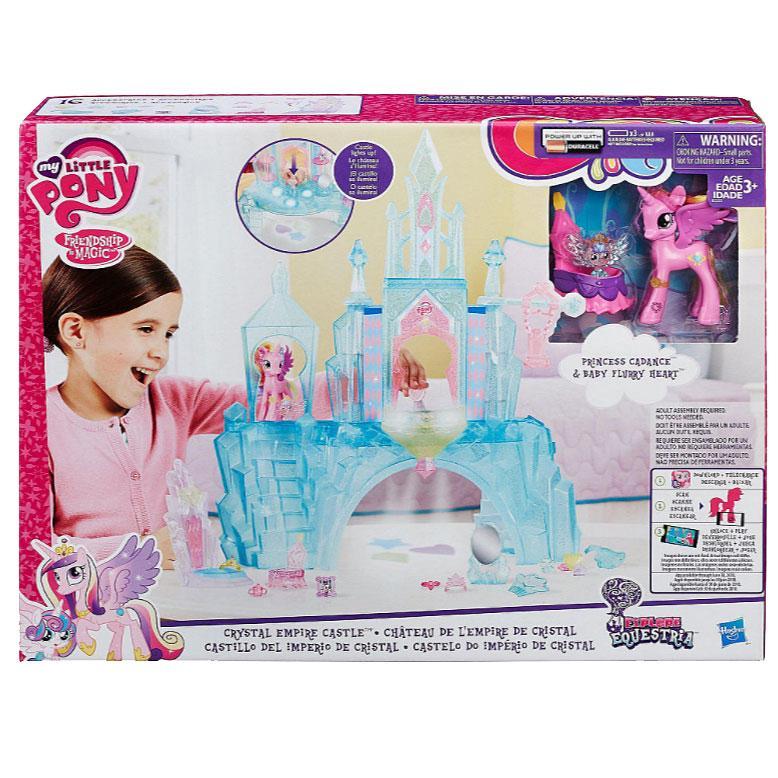 Ігровий набір фігурок Кристалічний замок My Little Pony (BR27792) - фото 2