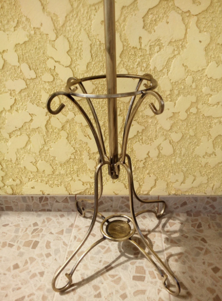 Вешалка кованная напольная  Istanbul 190х51см - фото 3
