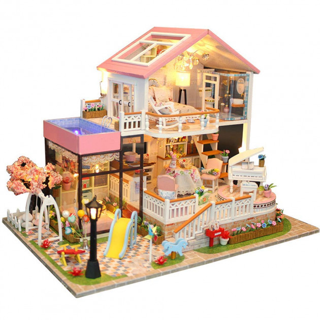 Будиночок ляльковий CuteBee Doll House Вілла (V787SD) - фото 1
