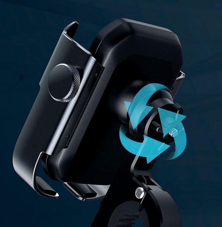 Тримач для мобільного телефона Baseus Armor Motorcycle holder Чорний (SUKJA-01) - фото 5