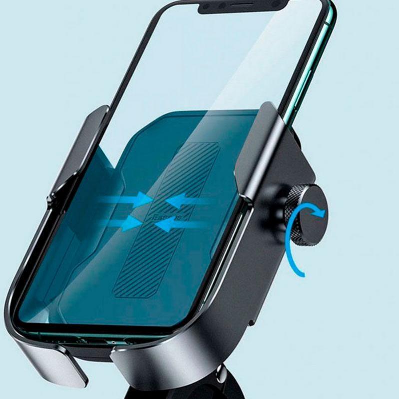 Тримач для мобільного телефона Baseus Armor Motorcycle holder Чорний (SUKJA-01) - фото 9