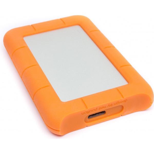 Жесткий диск LaCie USB 2TB (9000298) Rugged Mini - фото 3