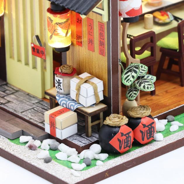 3D Румбокс CuteBee DIY DollHouse Суші-ресторан (G306) - фото 13