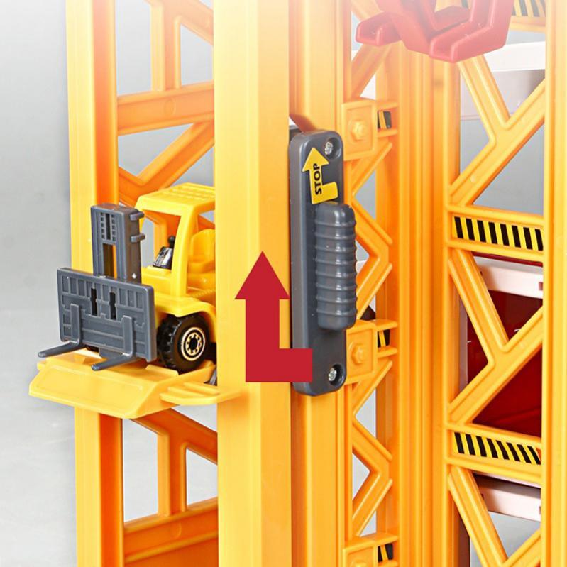 Ігровий набір Urban Construction Ігровий паркінг 5 поверхів - фото 3
